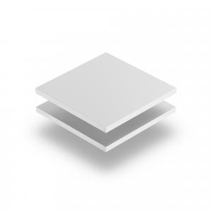 PVC Hartschaumplatte weiß