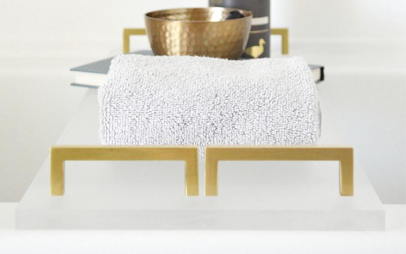 Badewannenablage aus Kunststoff