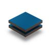 HPL struktur Platte enzianblau 6 mm RAL 5010