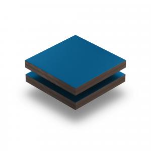 HPL struktur Platte enzianblau