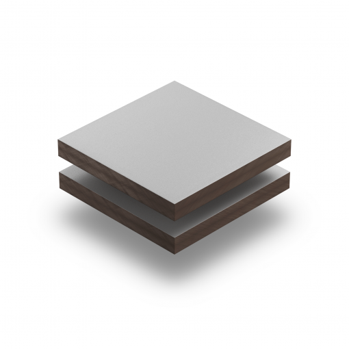 HPL struktur Platte hellgrau