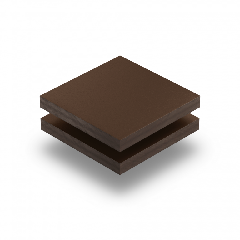HPL struktur Platte schokoladenbraun