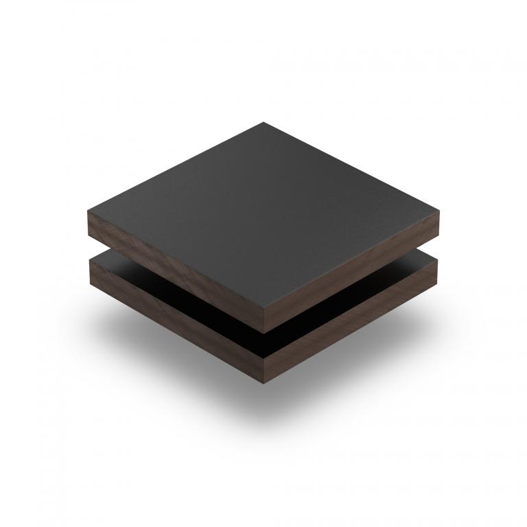 HPL struktur Platte schwarz