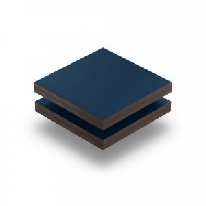 HPL struktur Platte stahlblau