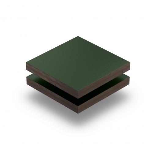 HPL struktur Platte tannengrün