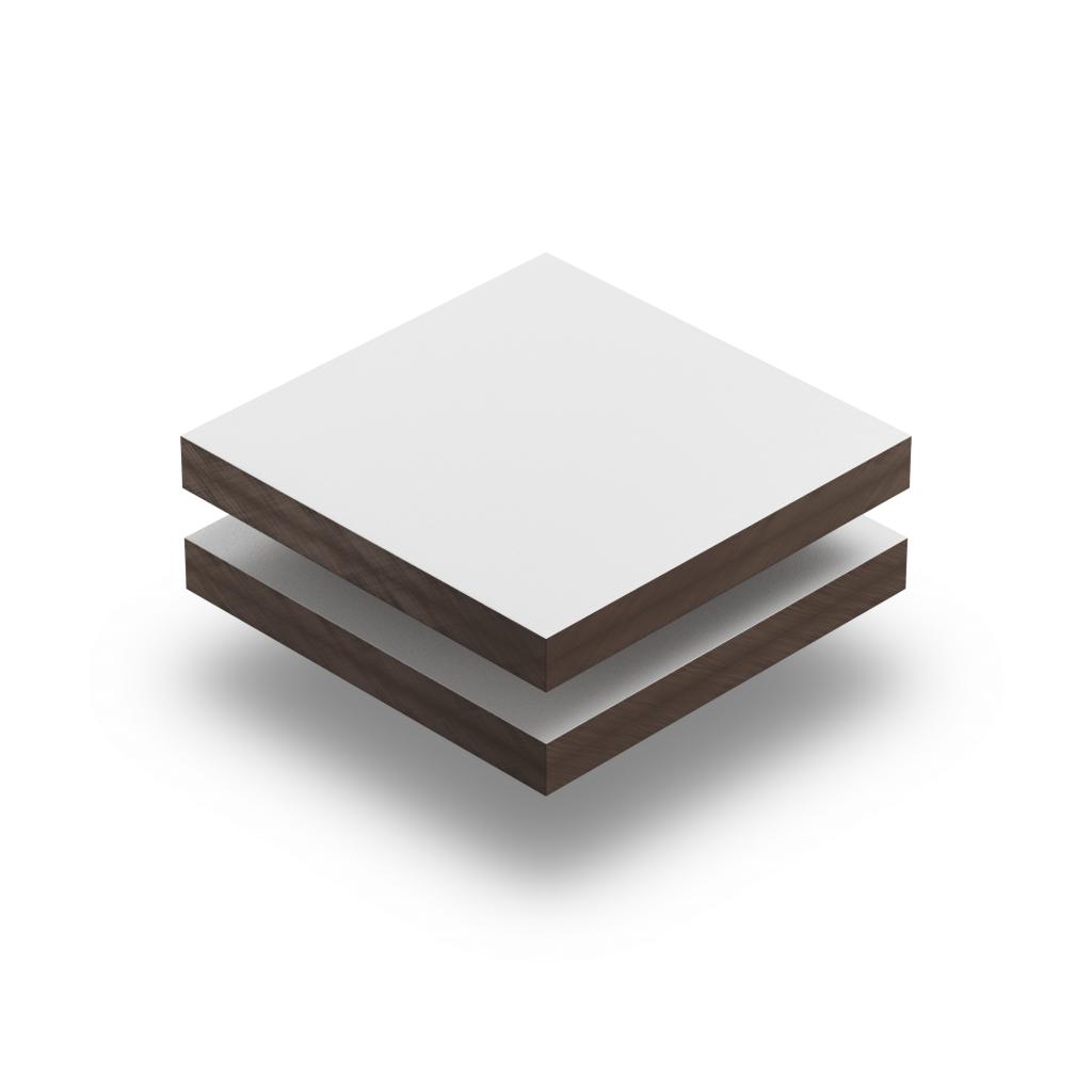 HPL struktur Platte weiß