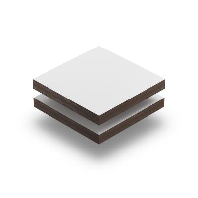 HPL struktur Platte weiß glatt