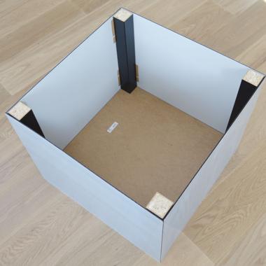 Ikea Lack Tisch Hack Mit Acrylglas Kunststoffplattenonlinede