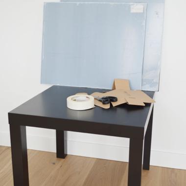 Plexiglas Tisch Material 1