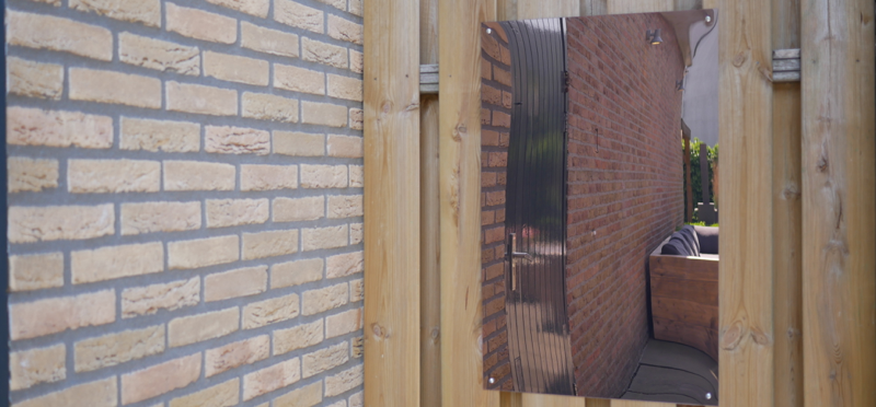 Acrylglas Gartenspiegel- ohne frame
