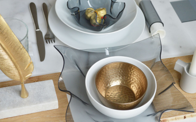 Selbst gebaute Tischdeko aus Acryglas – Teil 2