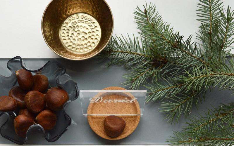 Selbst gebaute Tischdeko aus Acryglas – Teil 1