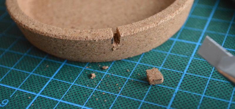 Material Korkuntersetzer