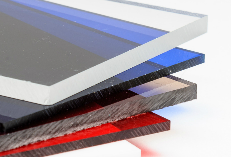 Produktion von Acrylglas