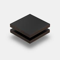 HPL Platte schwarz