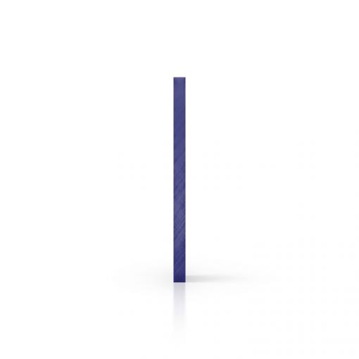 Seite Acrylglas Platte getoent blau