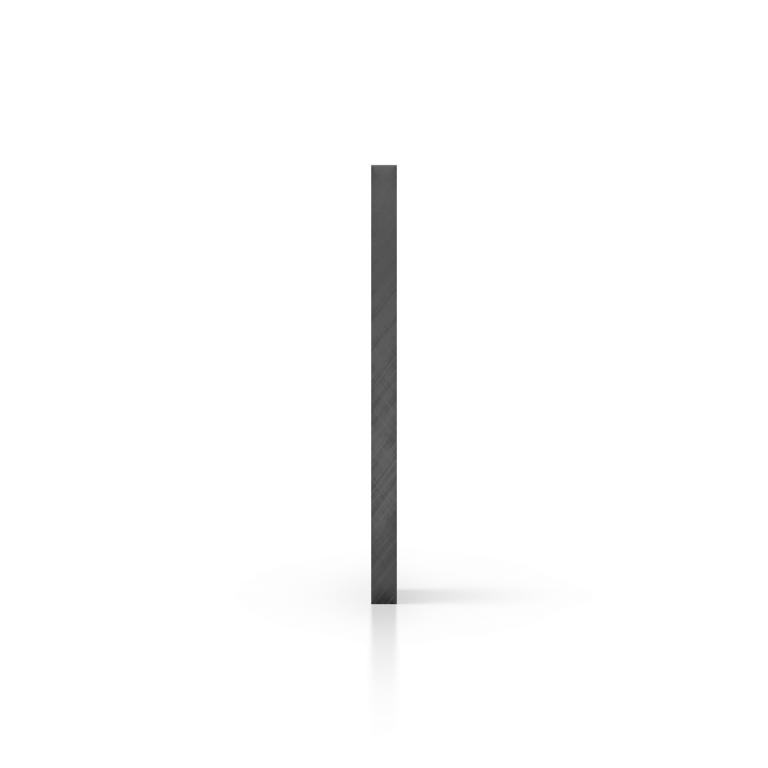 Seite Acrylglas Platte getoent grau