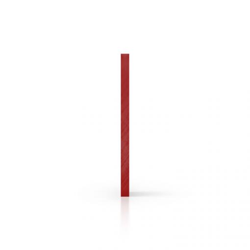 Seite Acrylglas Platte spiegel rot