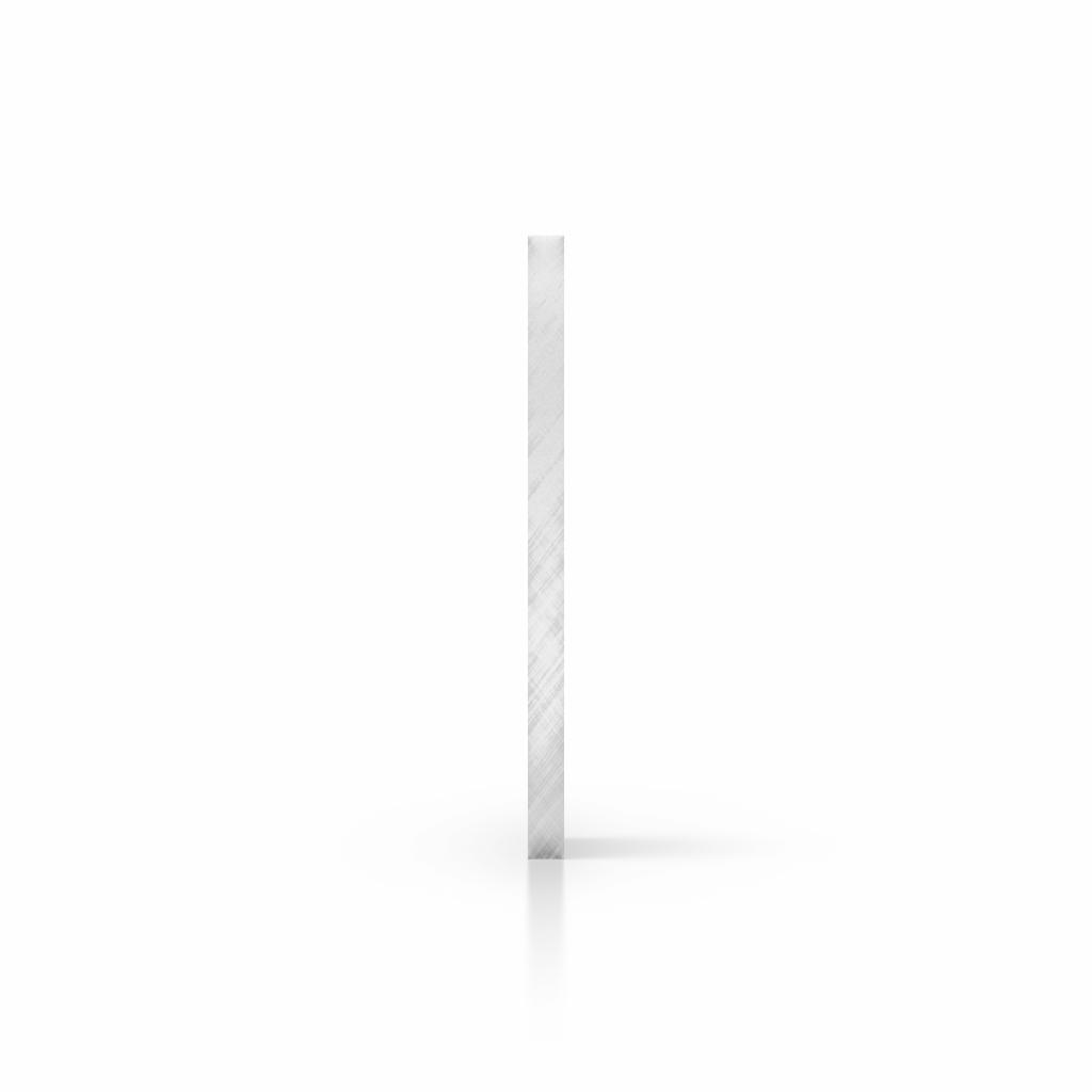 Seite Acrylglas Platte spiegel silber