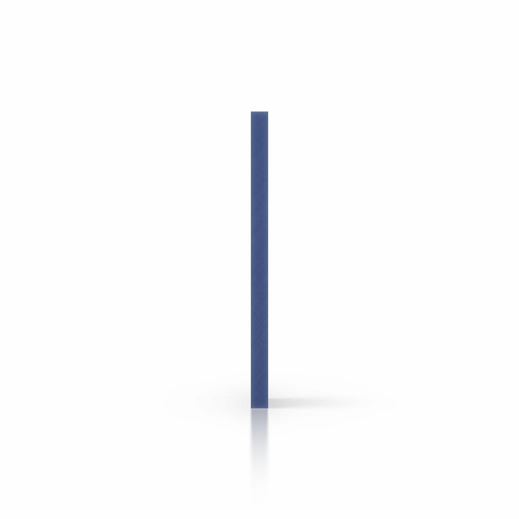 Seite PVC Hartschaumplatte blau