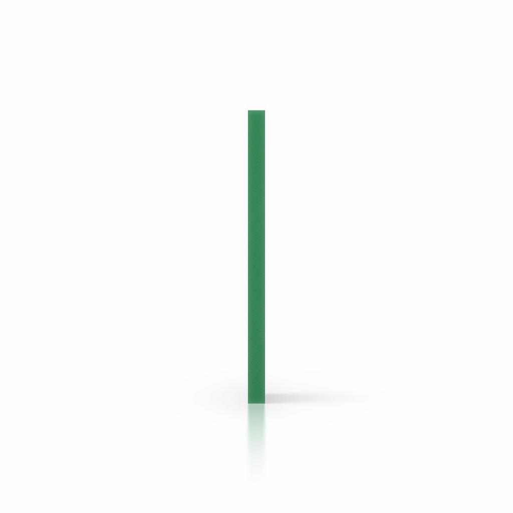 Seite PVC Hartschaumplatte gruen