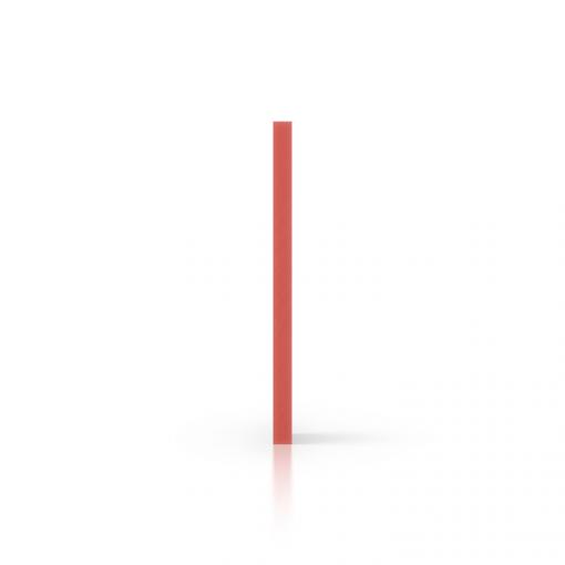 Seite PVC Hartschaumplatte rot