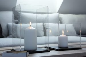Windlichter selber machen aus Acrylglas