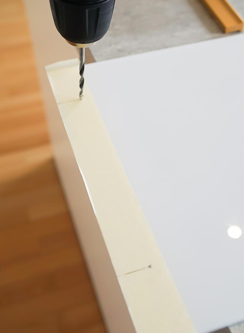 Plexiglas Tablett selber bauen schritt 3