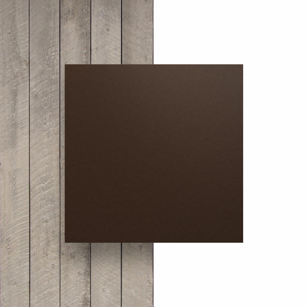 Vorseite HPL Schokoladenbraun
