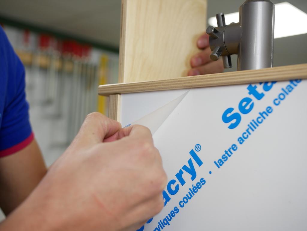 IKEA Duktig pimpen Acrylglasfolie entfernen