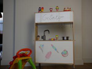 IKEA Kinderkueche pimpen Endergebnis