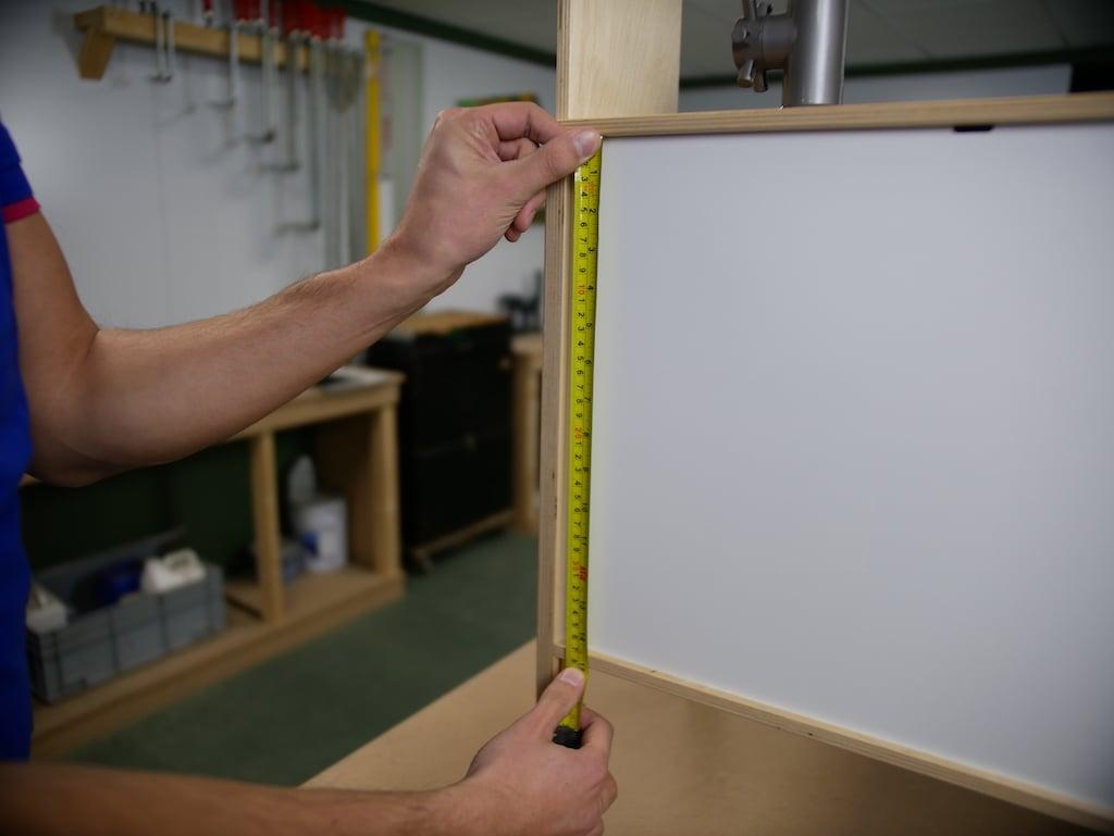 IKEA Kinderkueche pimpen Rueckseite messen