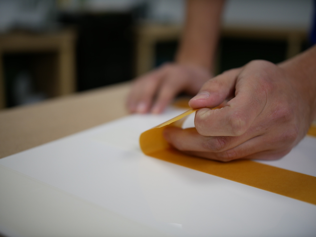 IKEA Kueche Acrylglas doppelseitiges Klebeband kleben