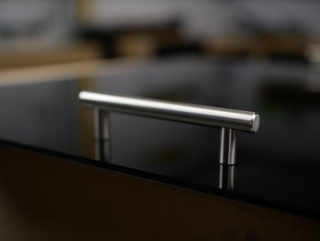 Tablett aus Acrylglas mit Griffe