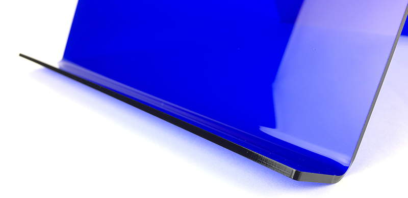 Tabletstaender aus acrylglas