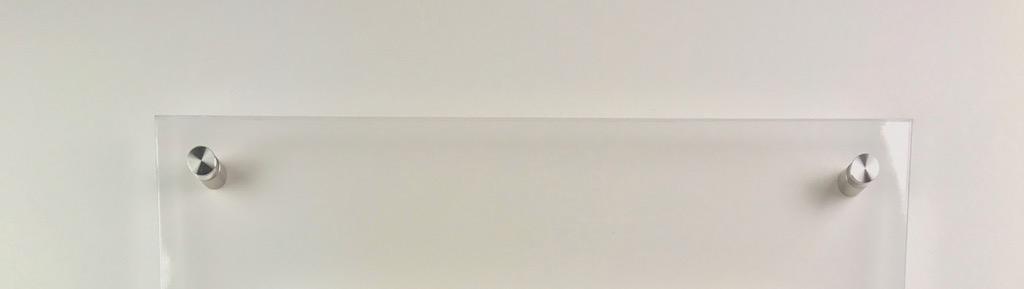 Spuckschutz plexiglas mit abstandshaltern