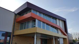 Trespa Fassaden Farben