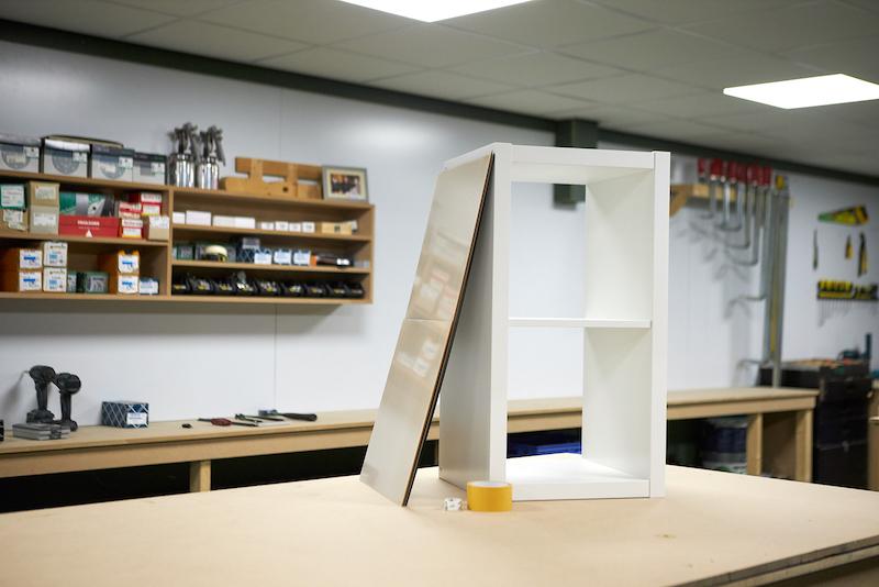 IKEA Hack Podest selber bauen Erforderliches