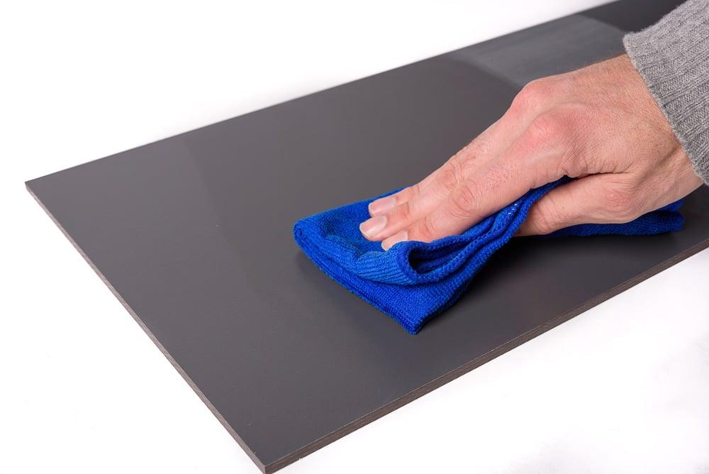 Trespa reinigen weiches tuch