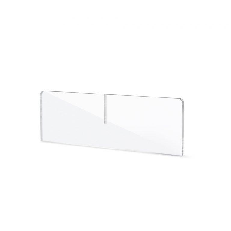 Acrylglas Fuss fuer Spuckschutz