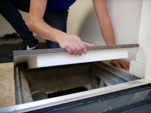 Bodenluke selber bauen aus HPL