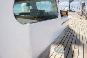 vandalismusbeständige Bootsfenster