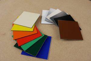 Alupanel Platten verschiedene Farben