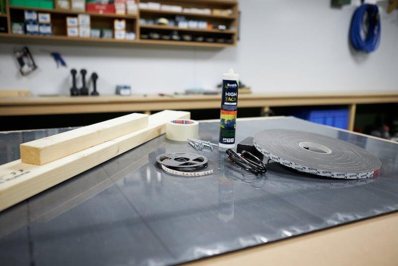 Erforderliches Deckenverkleidung Kunststoffplatten