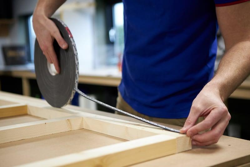 Kunststoff Deckenpaneele Rahmen befestigen