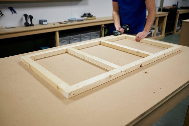 Kunststoff Deckenpaneele Rahmen