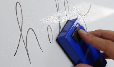 DIY: Whiteboard selber bauen aus Alupanel
