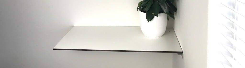 Schreibtisch aus HPL