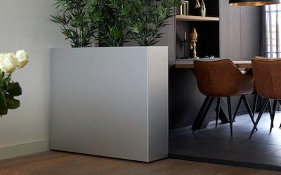 DIY Raumteiler – Pflanzkübel mit Rollen selber bauen