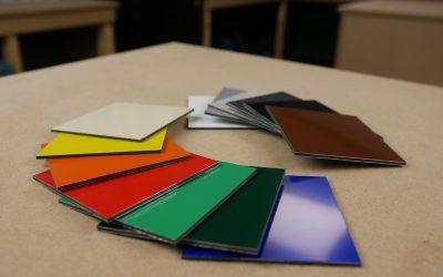 Welche Dibond® Farben gibt es?
